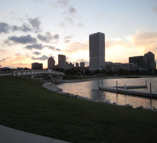 Sunset from Park